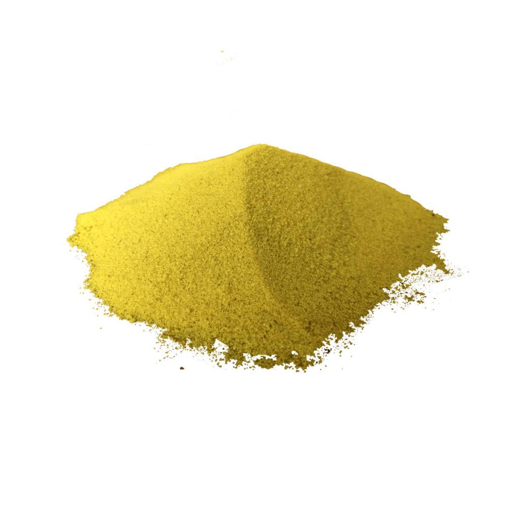 Декоративный песок кварцевый Жёлтый