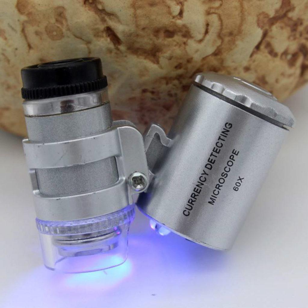Микроскоп (увеличение в 60 раз)