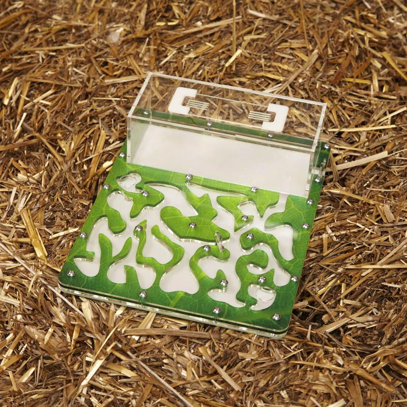 Горизонтальная акриловая муравьиная ферма