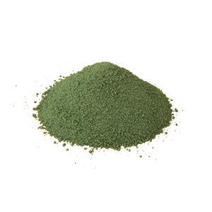 Декоративный песок кварцевый Зелёный