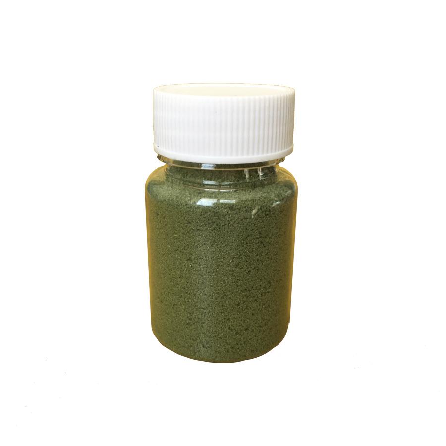 Купить декоративный кварцевый песок Зелёный