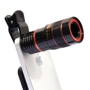 Объектив для смартфона для рассмотрения муравьев